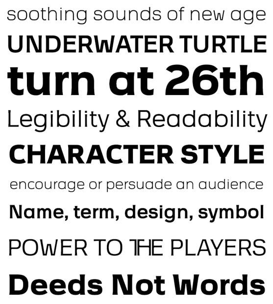 设计师必备8个全新的免费字体 - 任刚 · Ren Gang 世界设计 · 设计世界