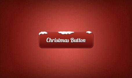圣诞节按钮(PSD)