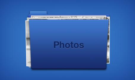 文件夹图标模版(PSD)