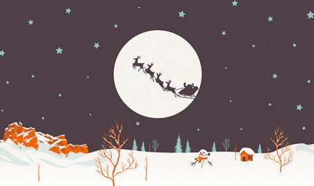 30幅高分辨率圣诞节主题背景图片