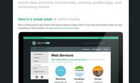 Creative VIP / 创意VIP - 为创意专业人士的专享优惠