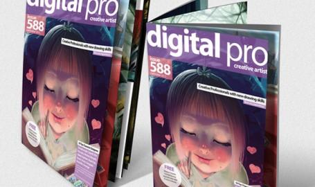 """Digital Pro""期刊版式设计"