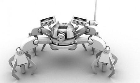 机器人 - 3d 图形设计