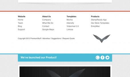 Aquila - 灵活的电子邮件模板