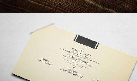 LUCAS ALEXANDER 高档商业名片设计
