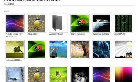 MiniGal Nano - 免费、简单、用户界面友好的 PHP/HTML/CSS 相册源码
