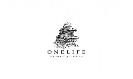 冲浪服生产商品牌 OneLife 标志设计