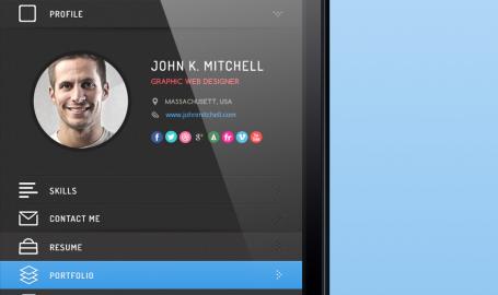 Resume - 应用程序UI界面设计