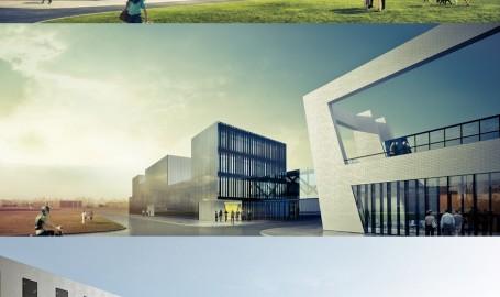 FPark Gliwice - 办公楼设计