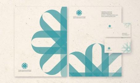 Saudi Center 标志设计