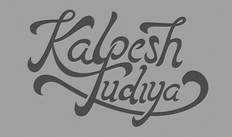 Kalpesh Tudiya - 字体标志设计