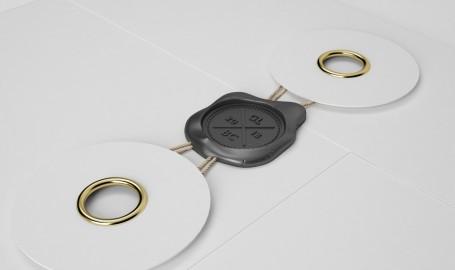 """Wax Seal""信封密封设计 - 3D图形设计"