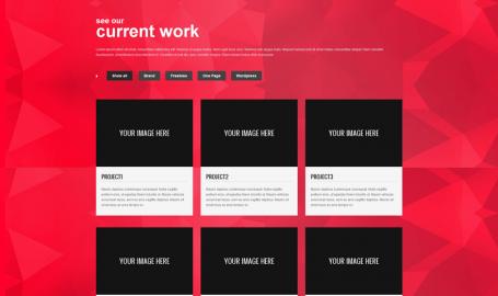 Zifa - 单页主题模版