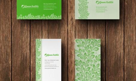 Green Rabbit - 绿化、园林规划公司名片设计