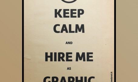 Keep Calm - 海报设计