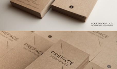 Kraft - 设计工作室名片设计