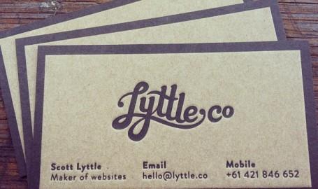 LyttleCo - 商业名片设计