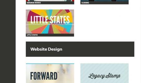 Third & Grand - 网页设计