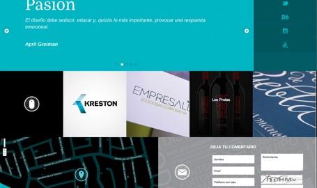 Tipos Libres - 全屏响应网页设计