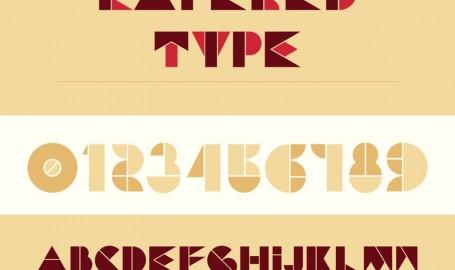 Chunky Display - 字体设计
