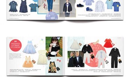 哈维·尼科尔斯(香港)童装SS13 - 宣传册设计