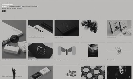 Kosta Rakicevic Design & Art Direction - 网页设计