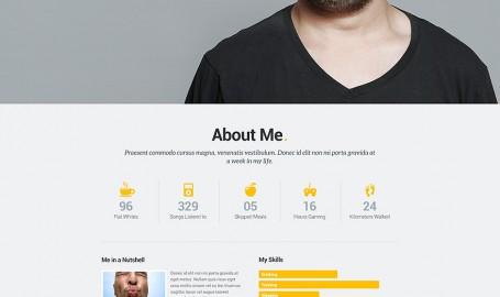 Selfy - 网页设计