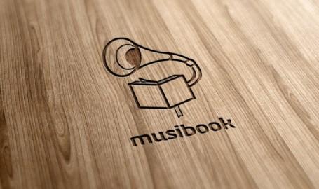 musibook - 图书文化传播LOGO设计