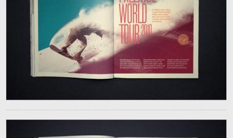 4SNOWMAG - 杂志版式设计