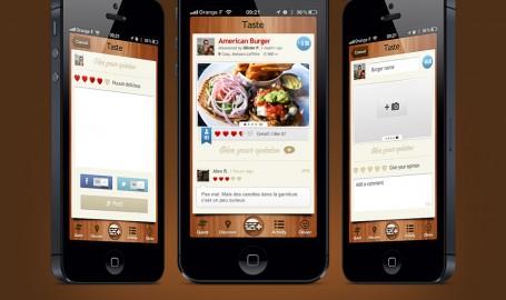 BurgerQuest - 移动用户界面设计