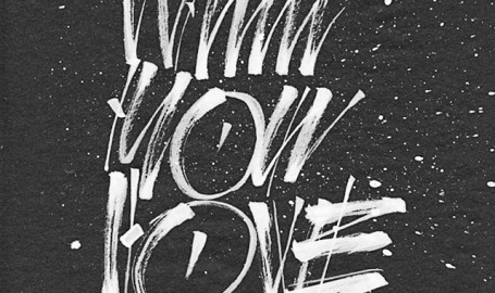 Do What You Love - 字体设计