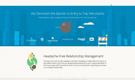 Flat website design and illustration - 网页设计