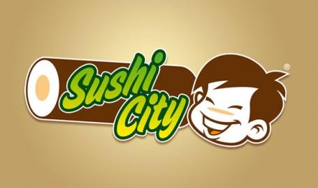 Sushi City - 标志设计