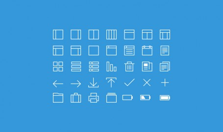 35 Thin Line - 图标设计套件