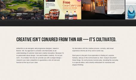 AmberMiro Design Studio - OnePage网页设计