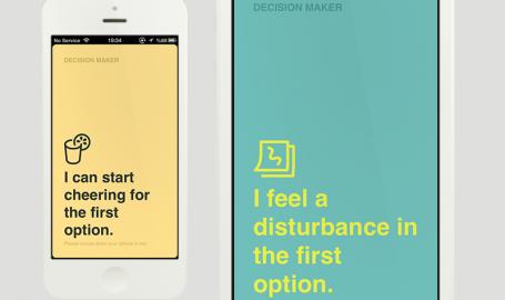 Decision Maker Detail - 移动应用界面设计
