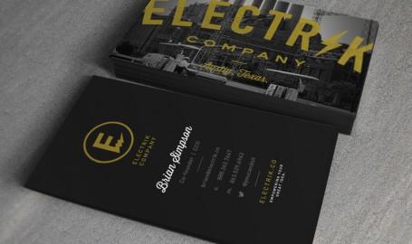 Electrik Company - 名片设计