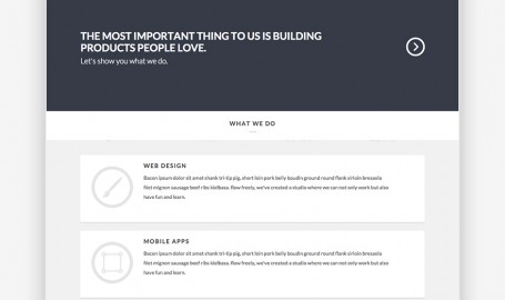 Flat Studio - A Flat Responsive One Page HTML Template - 单页HTML模板