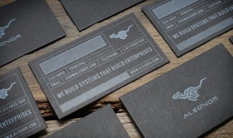 Letterpress - 商业名片设计
