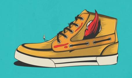 Native Sneaker - 矢量图形设计