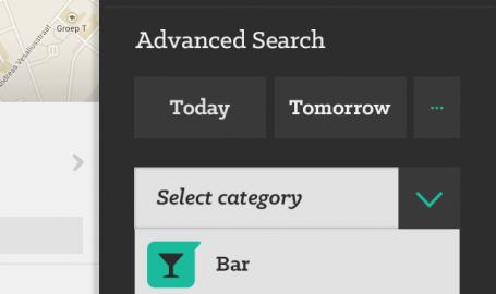 Search within ticketing app - 移动应用程序UI设计