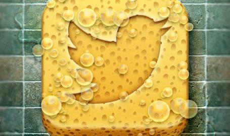 Tweet Cleaner App Icon - 应用程序图标设计