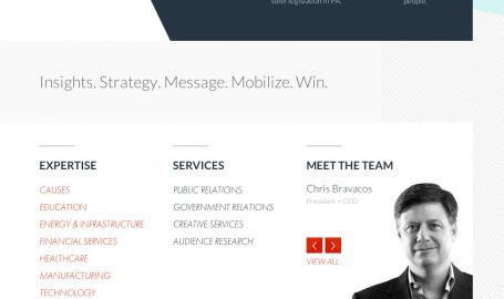 Bravo Group Website - 网页设计