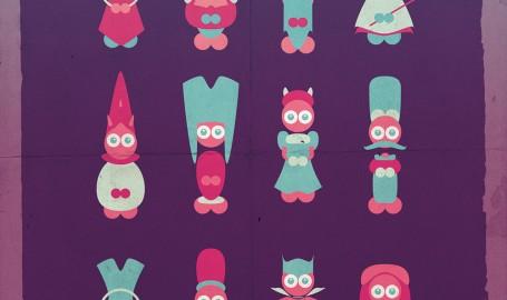 Character Design - 矢量图形设计