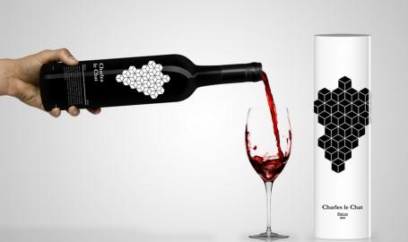Charles le Chat - 红酒包装设计