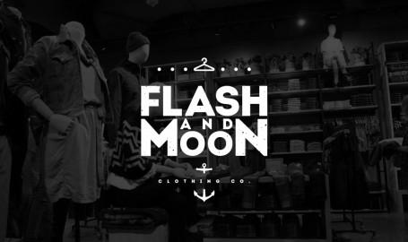 Flash & Moon - 标志设计