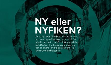 Ny eller Nyfiken - 海报设计