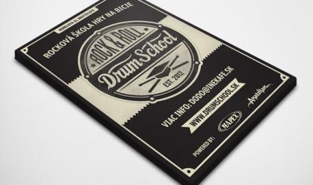 RNR Drumschool flyer - 小册子印刷设计