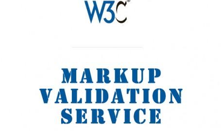 W3C Markup Validation Service - 网页代码语法错误检查工具