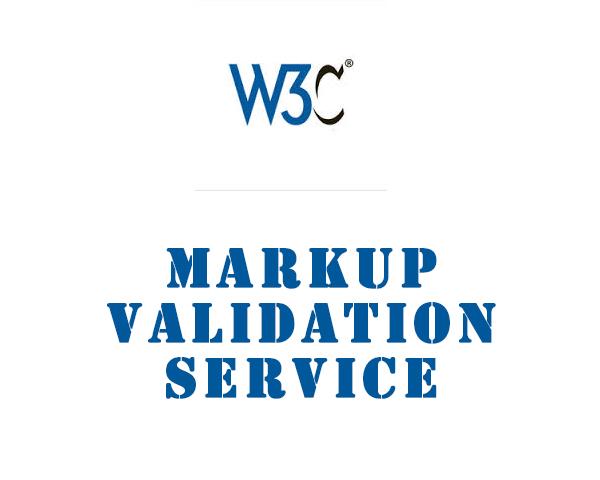 W3C Markup Validation Service – 网页代码语法错误检查工具